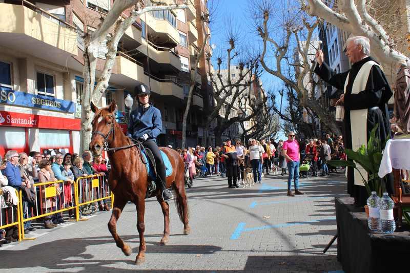 L'Ajuntament de Dénia suspén enguany la benedicció d'animals per Sant Antoni