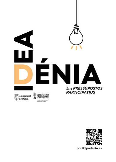 El termini de presentació de propostes per als pressupostos participatius de 2022 comença hui