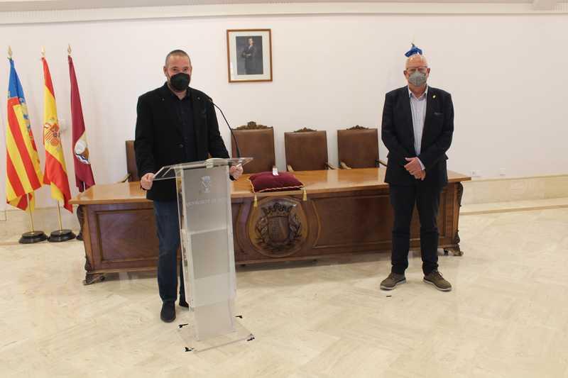 Juan Sapena, nuevo concejal del Ajuntament de Dénia