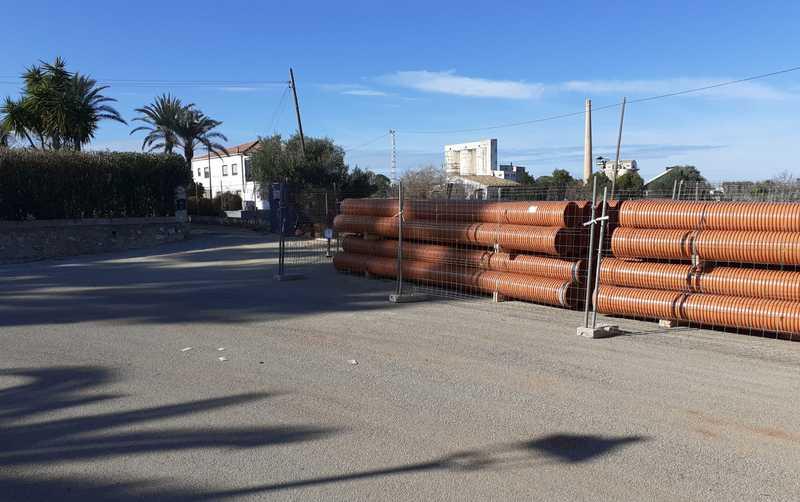 Foto Aguas de Dénia inverteix 115.000 euros en l'ampliació de la xarxa municipal de sanejament