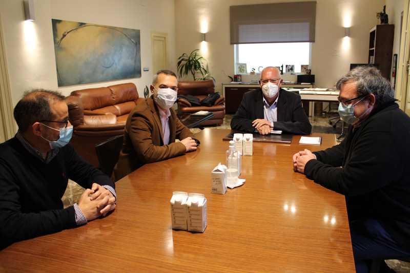 Foto Reunión con el secretario autonómico de Innovación y Transformación Digital