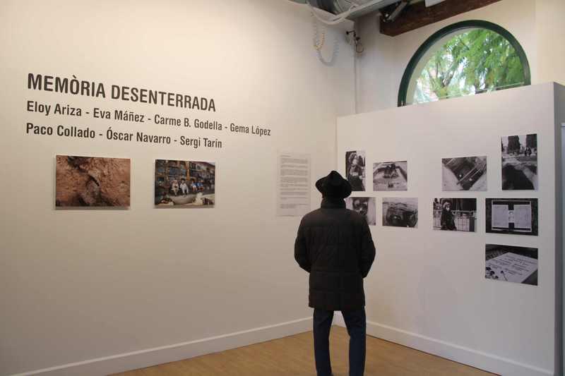 """Foto L'exposició col·lectiva """"Memòria desenterrada"""" aporta diferents mirades sobre els processos ..."""