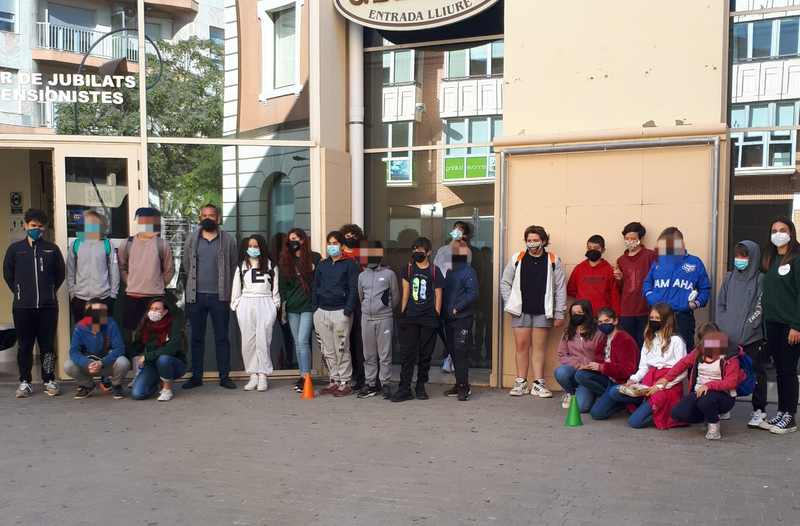 Foto Treinta jóvenes disfrutan de actividades de ocio alternativo en el campus de Pascua gratuito...