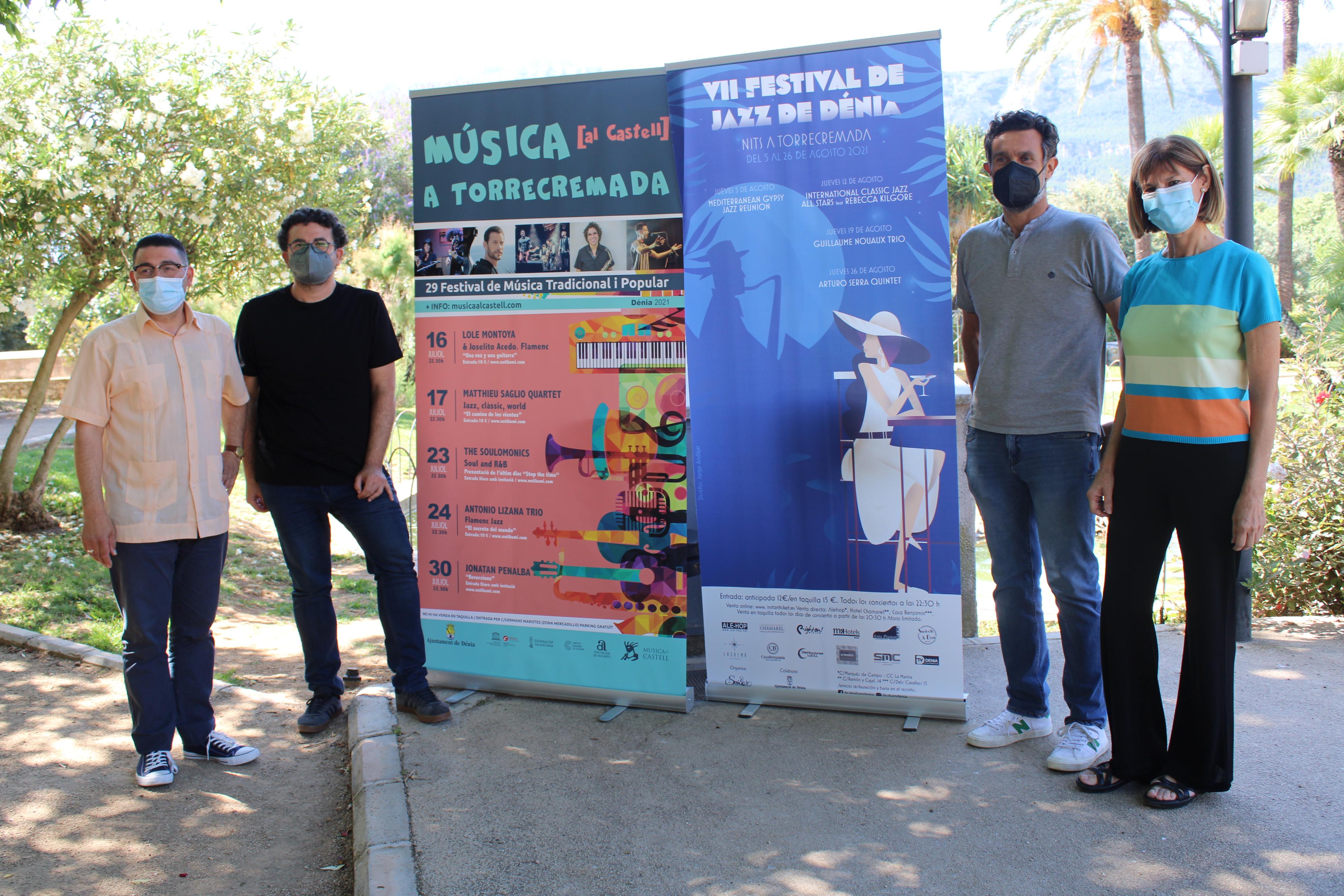 Música [al Castell] a Torrecremada vuelve tras la suspensión obligada de 2020 apostando por ...