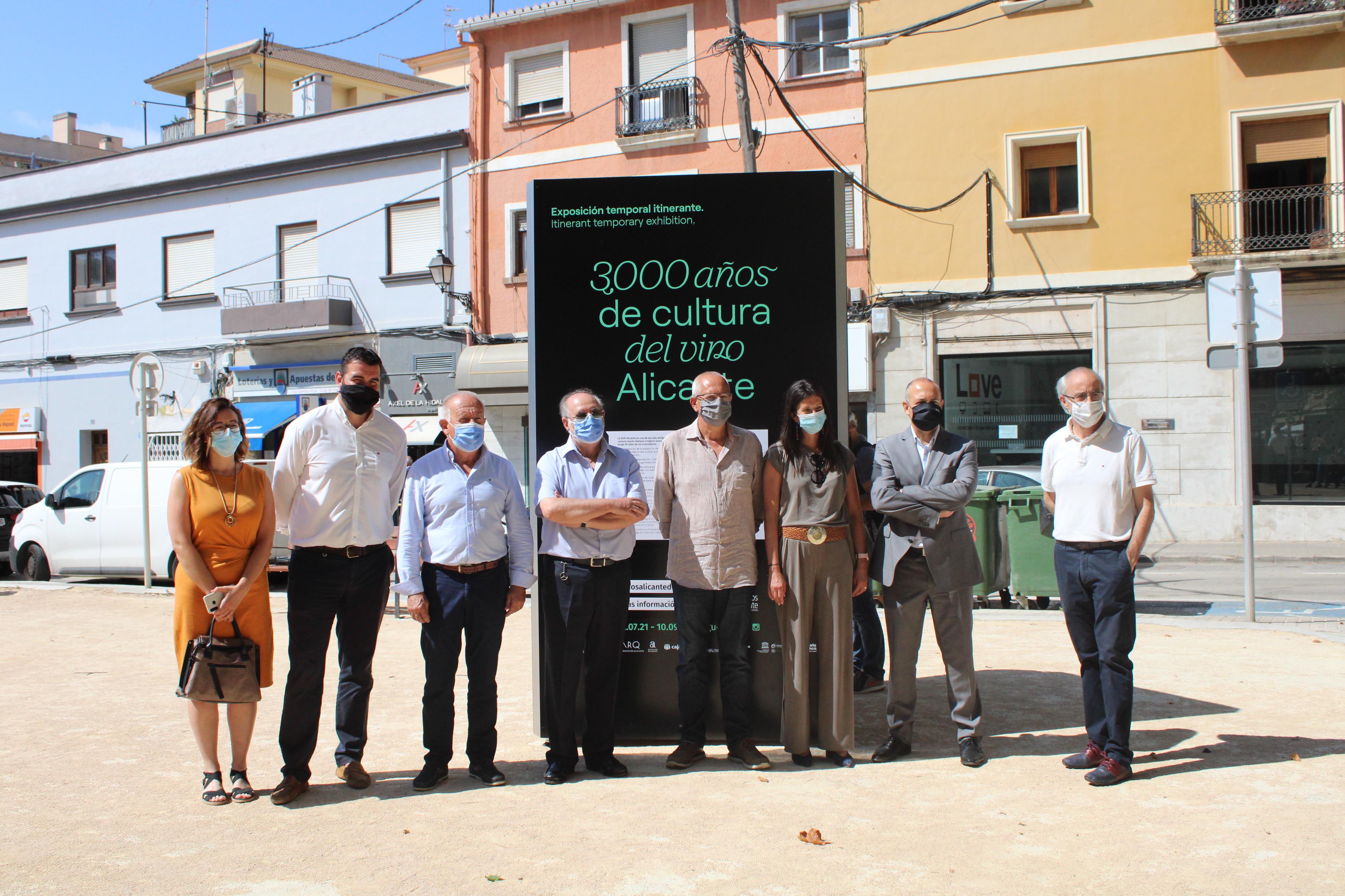 La exposición '3.000 años de cultura del vino', de la DOP Alicante, se presenta en D...