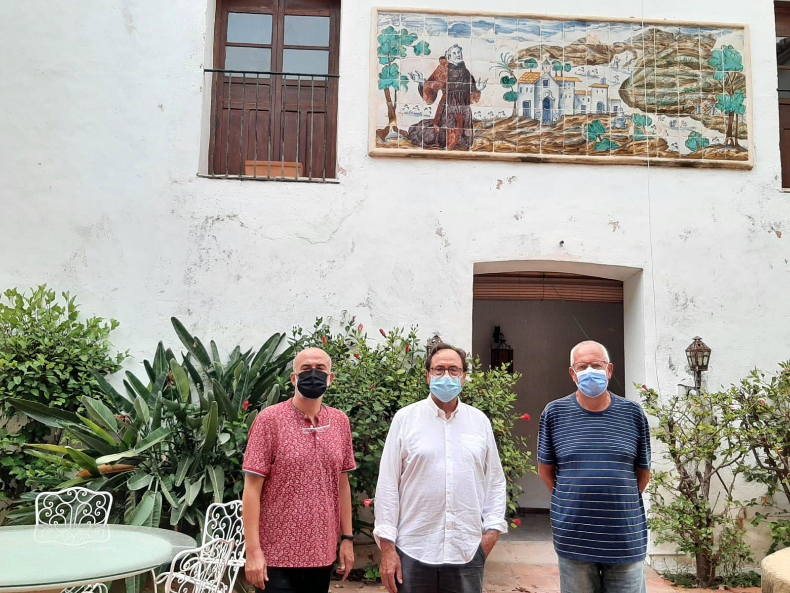 El conseller d'Hisenda visita el convent de Jesús Pobre per a valorar-ne l'adquisió