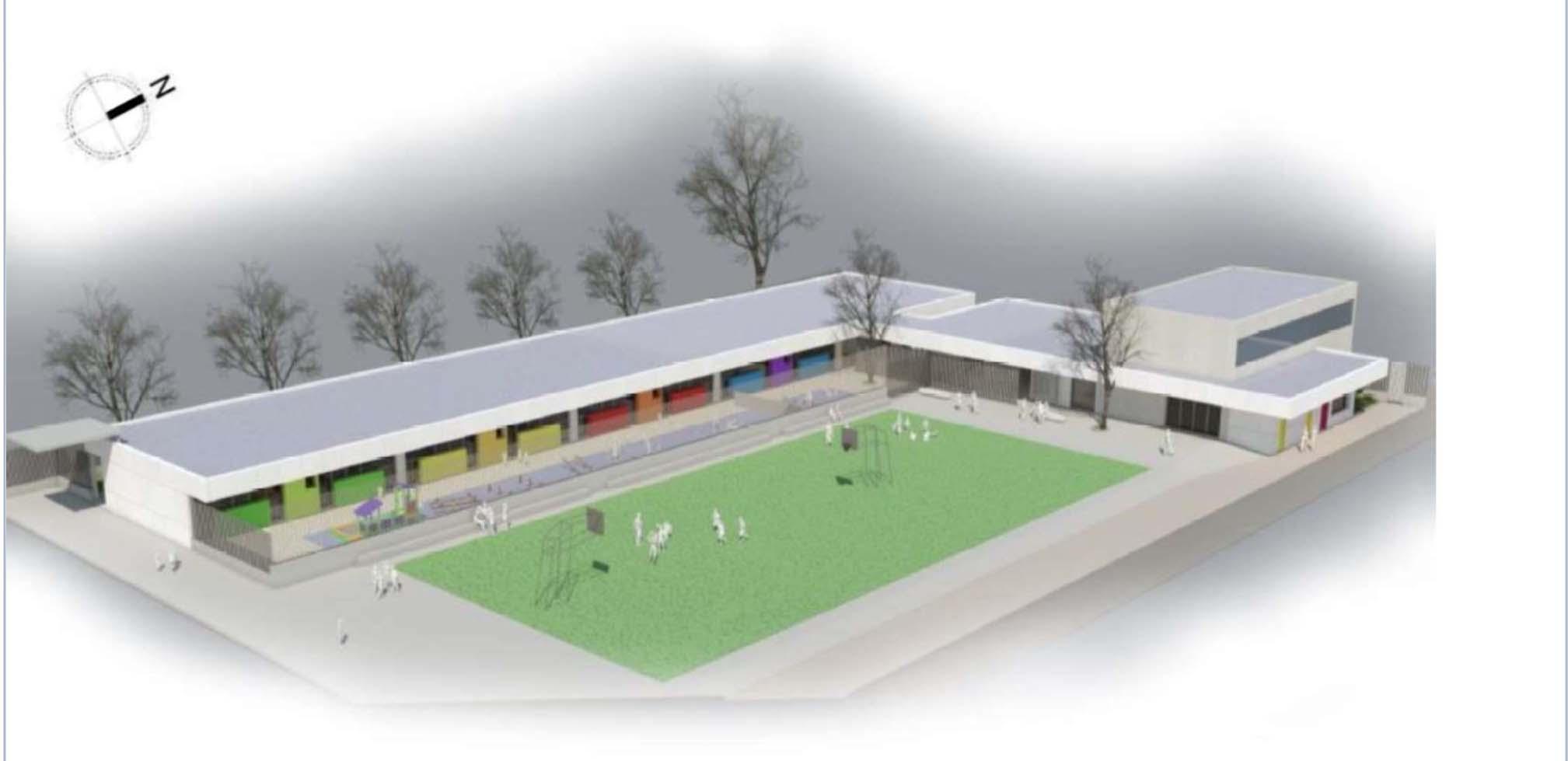 Adjudicades les obres del nou aulari del col·legi Pou de la Muntanya