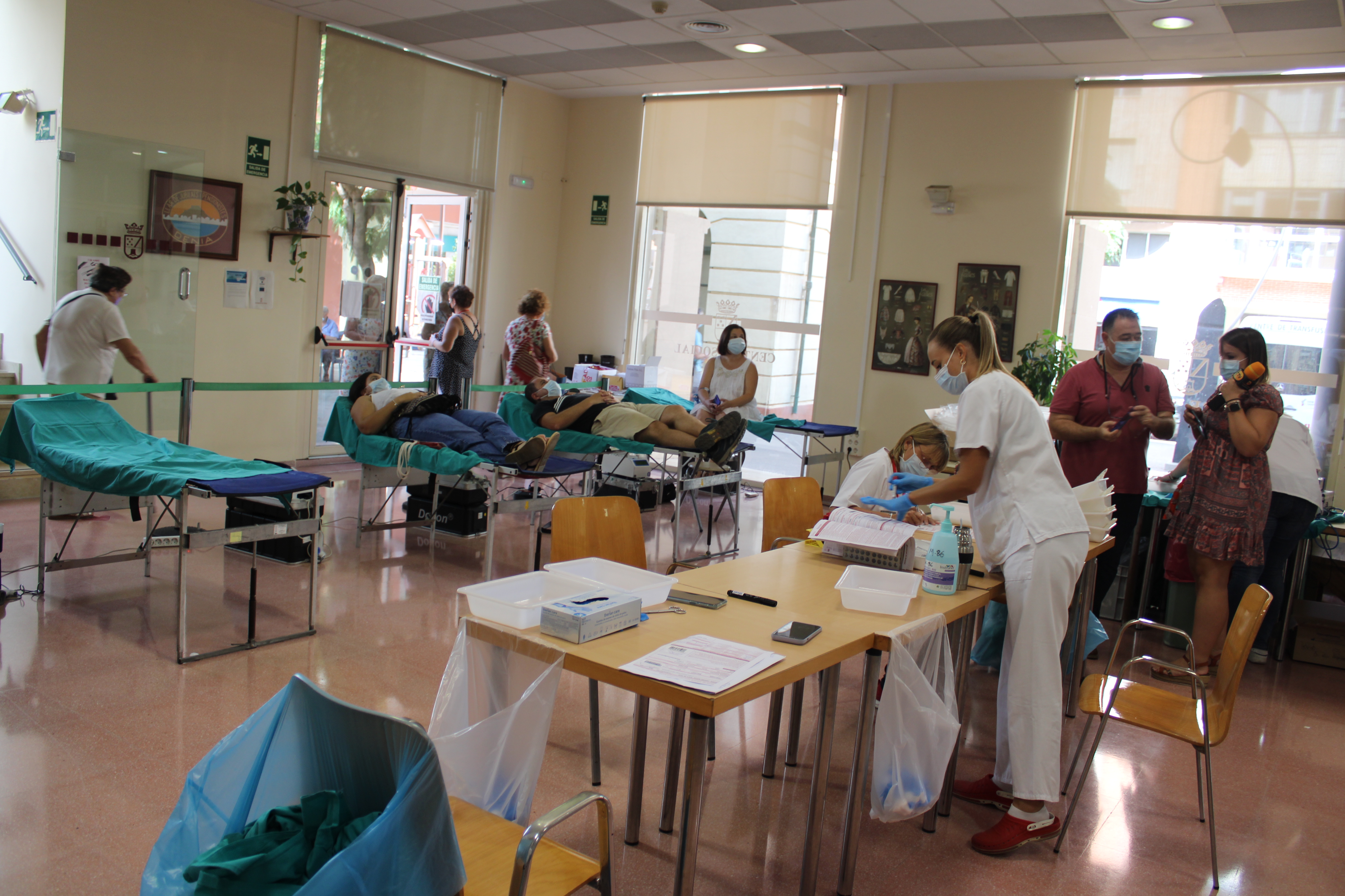 Foto Más de un centenar de donaciones consiguió la jornada de Donación Solidaria de Sangre de Dénia