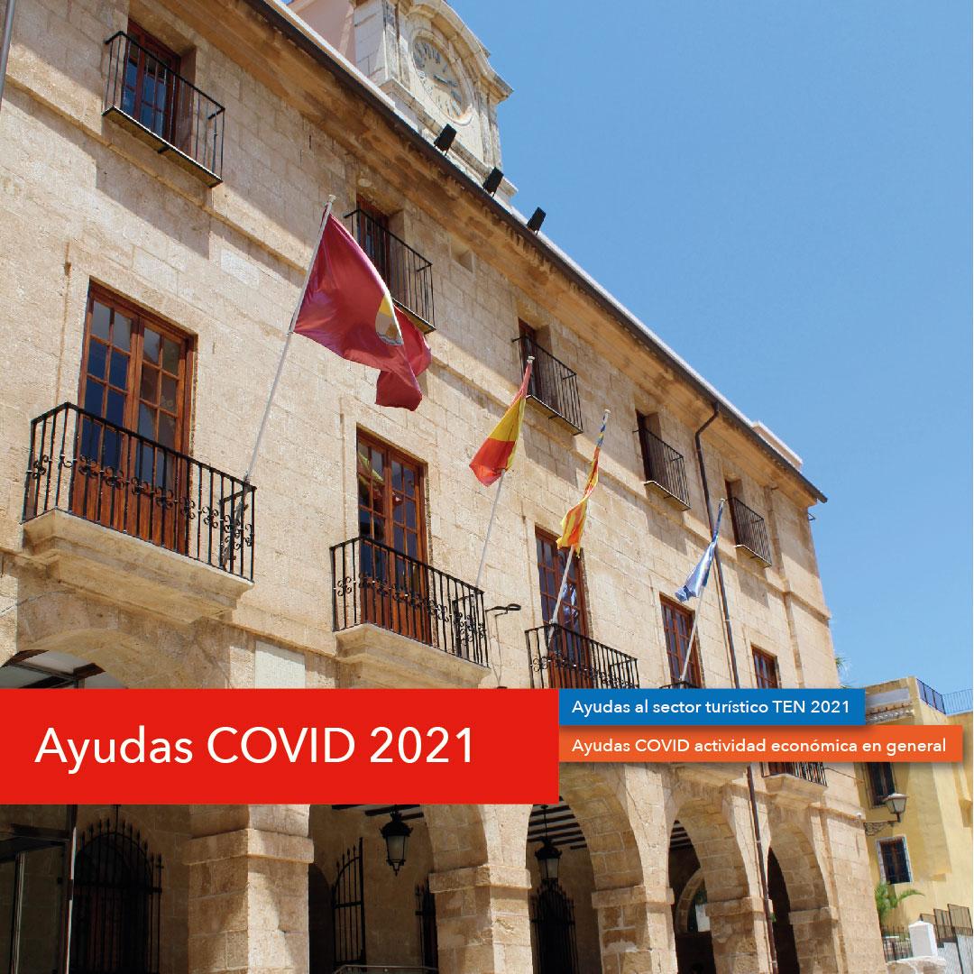 Foto Oberta la sol·licitud de les ajudes COVID 2021 de la Diputació d'Alacant de suport a l&#...