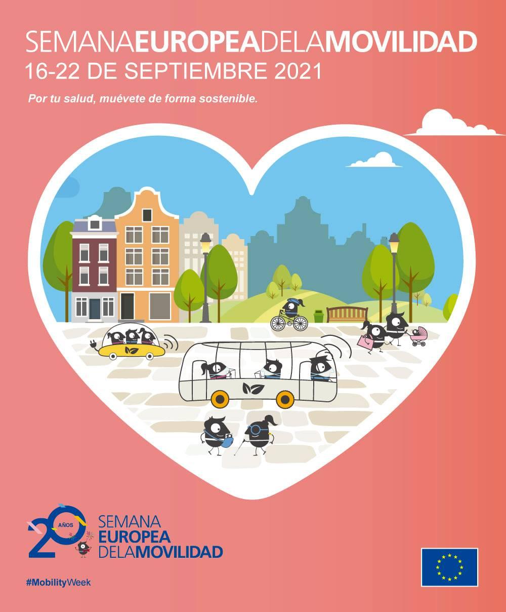 L'Ajuntament de Dénia centra la celebració de la Setmana de la Mobilitat 2021 en la prom...