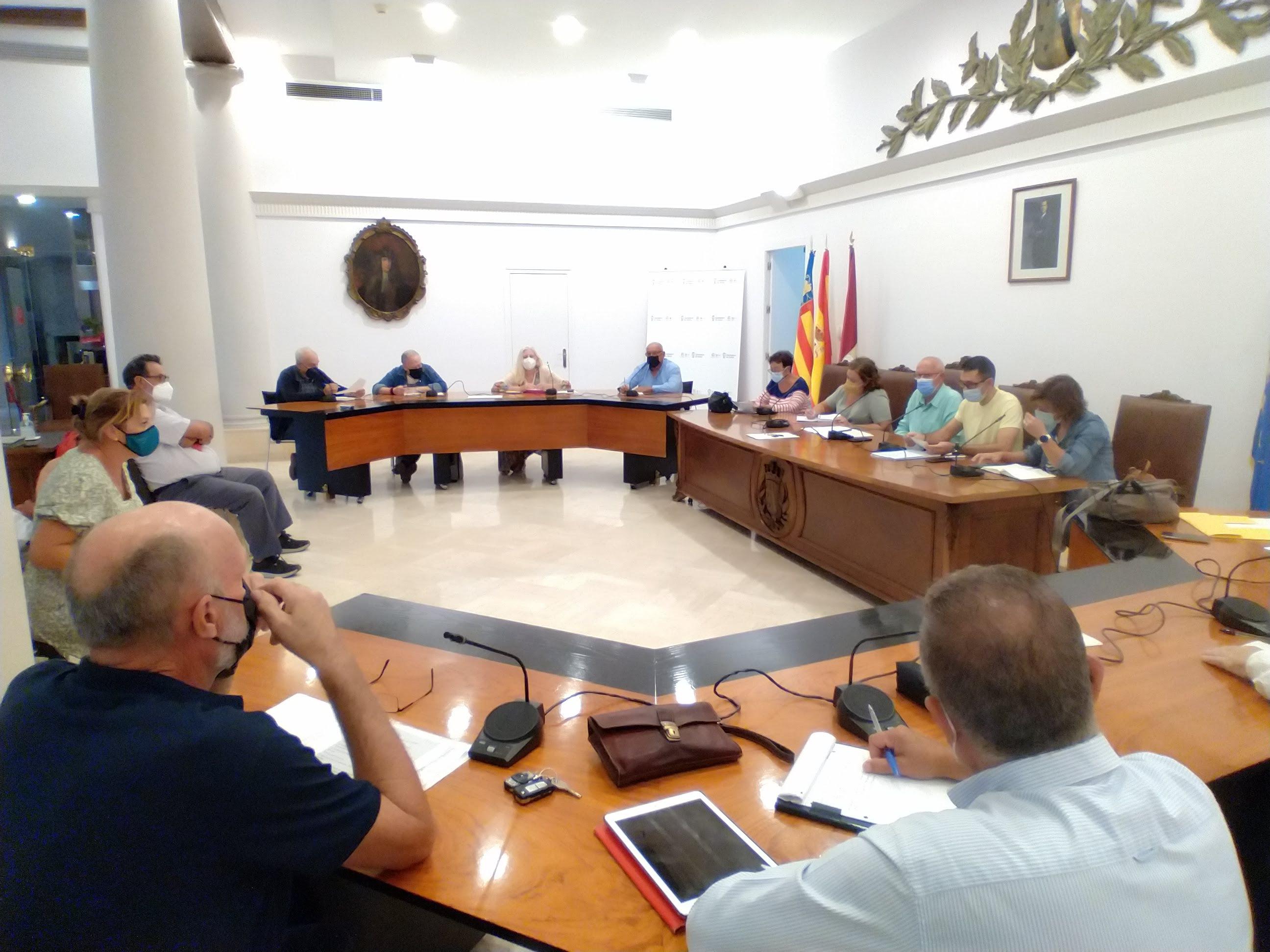 Reunió del Consell de Participació Veïnal