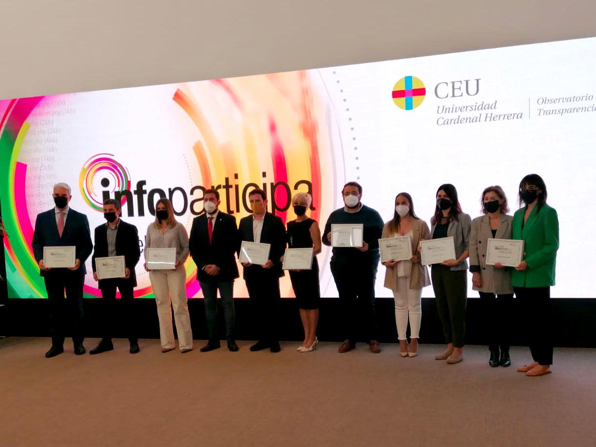 Foto L'Ajuntament de Dénia rep el Segell Infoparticipa per complir amb el 90% dels indicadors...